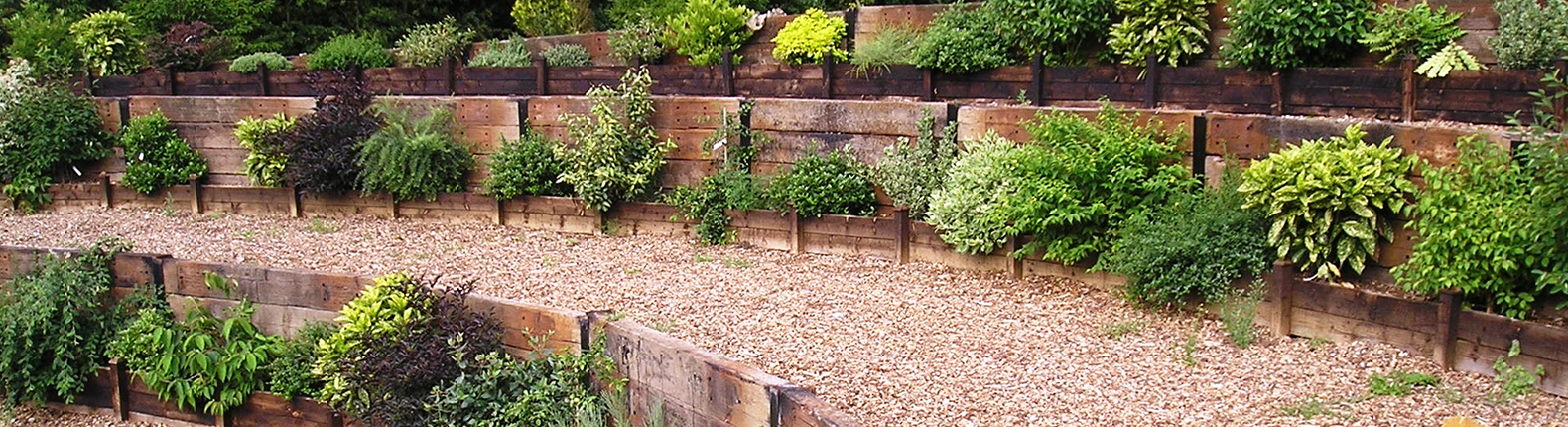 How To Build A Retaining Sleeper Wall Avs Fencing Supplies